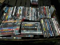 Large collection of over 200 dvds