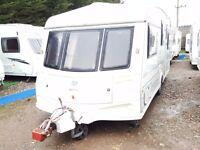 1999 ABI Award Nightstar 5 Berth Caravan in very good condition for its year
