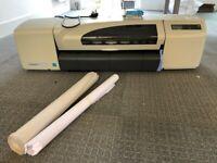 HP Designjet 510 Large Format Inkjet Printer Plotter used