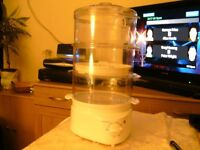 3 TIER ELECTRIC STEAMER