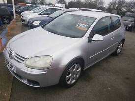 2005 Golf 1.6 fsi sport 1 owner from new £2495 part exchange welcome