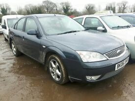 2006 FORD MONDEO EDGE 16V NOW BREAKING FOR PARTS