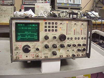 Motorola R2002dh Communications System Analyzer Service Monitor With Spectrum
