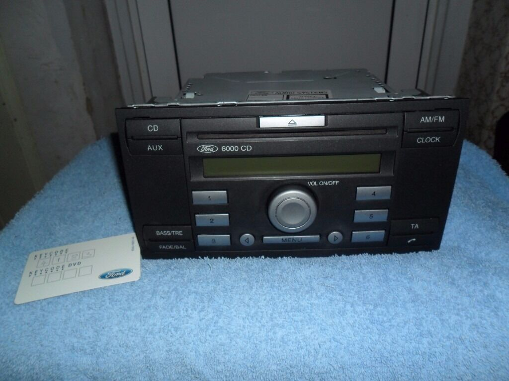 ford 6000 radio cd in hull east yorkshire gumtree. Black Bedroom Furniture Sets. Home Design Ideas