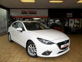 2015 65 MAZDA 3 SE-L NAV D ~ONLY 5000 MILES FROM NEW~RARE DIESEL AUTO~1 OWNER~UNDER WARRANTY~