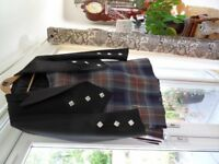 Gents Kilt and Jacket;