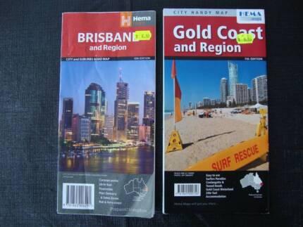 Road Maps - Brisbane & region, Gold Coast & region