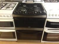 Zanussi Black 60cm gas cooker