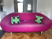 Free sofa with foot rest available for pick up only