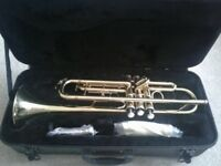 Trumpet for beginners **used once like new**