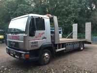 MAN 7.5 tonne Transporter Lorry