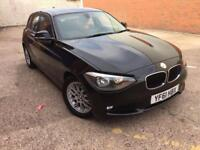 bmw 118d se 2012 61 plate new shape service history spare key alloy wheels