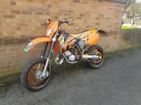 Ktm sx 125 road legal mx bike
