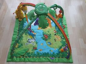 Fisher Price Rainforest Gym Playmat