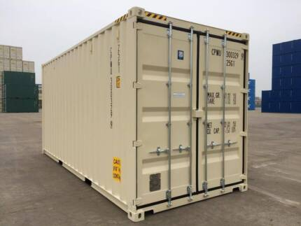NEW 20' Shipping Container - Delivery & GST Included