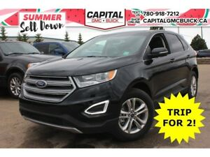 2017 Ford Edge SEL AWD HEATED LEATHER REMOTE START 8 TOUCHSCREEN