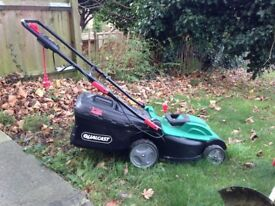 Qualcast Rotary Mower 1500W and Trimmer 430W Set. Good condition.