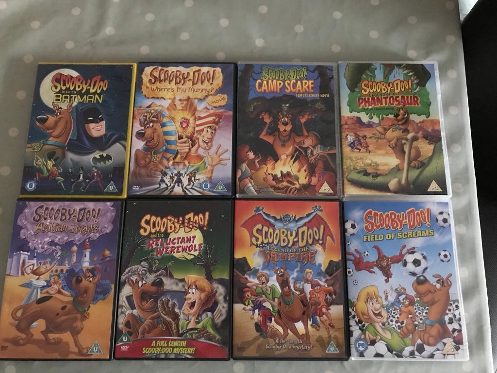 Scooby-Doo DVD's.