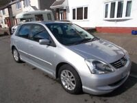 2004 Honda Civic 1.7 cdti se 5 door diesel 1 owner since 2007 very clean drives great lower tax