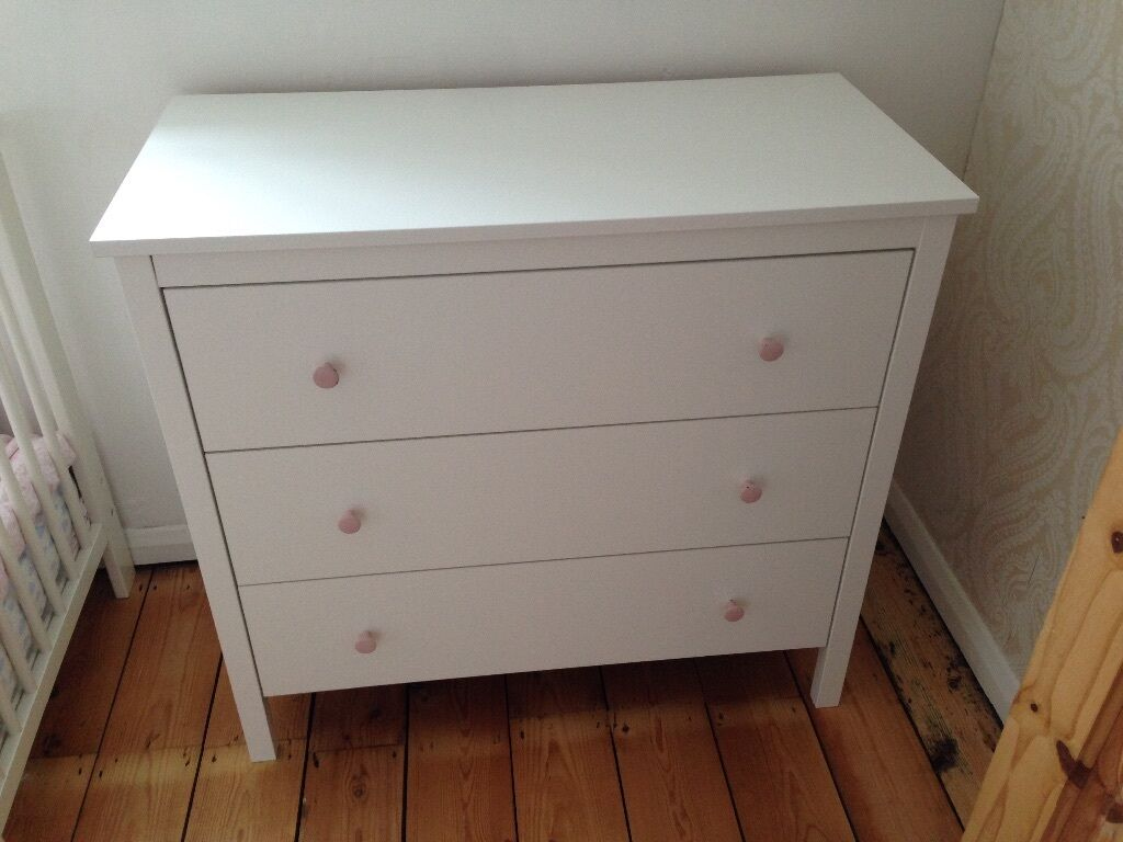 Koppang White Chest Of Drawers 163 40 In Richmond London