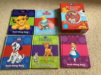 Amazing 5 Disney books and Brown new CD.