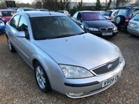 2004 FORD MONDEO GHIA TDCI 130 SILVER 5DR HATCHBACK