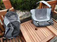Bike Hut - Rucksack And Courier Bag (Both New)