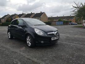 Vauxhall CORSA 1.4 SXI BLACK. FULL service history. 12 month MOT.