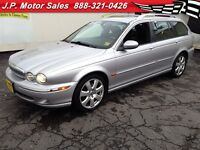 2005 Jaguar X-Type 3.0, Automatic, Leather, Sunroof, AWD