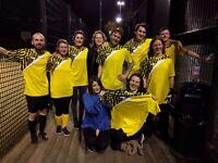 South London based mixed gender 5 aside team seeks spritely goalkeeper