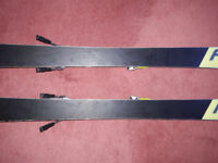 Ladies' Fischer slalom racing skis from the racing line. 156cm and excellent condition