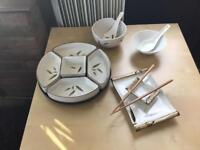 Chinese dinner set.
