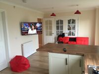 Professional TV Wall Mounting from £70, Audio and Video Distribution Services.