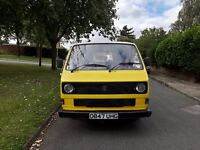 VW T25 camper van project, recent 1.9d engine