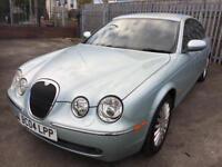 Jaguar S-Type 3.0 V6 SE 4dr Auto (silver) 2004