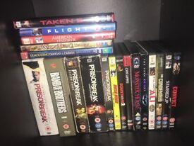Job lots of DVDs