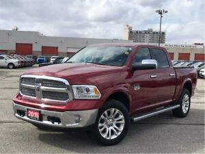 2015 Ram 1500 LONGHORN**DIESEL**SUNROOF**AIR SUSPENSION**