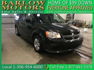 2013 Dodge Grand Caravan SXT Stow&Go | $99 DOWN EVERYONE APPROVE