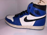 49946563a0b Original Rare Nike Air Jordan 1 Game Royal Blue White Size UK 10.5 With Box  Bred