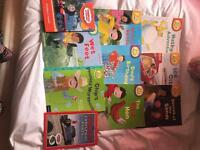 Various children's books biff chip and kipper, Charlie and Lola, Thomas the Tank and many more