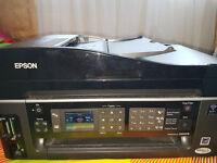 EPSON STYLUS SX600FW Mult-function Printer, Scanner, Fax, Photocopier - Wireless functionality