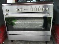 maytag lpg stainless steel range cooker vgc can deliver in brighton