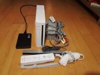 Nintendo Wii Console with 150 Games