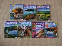 7 Countryfile Magazines Countryside Wildlife Farming Food Outdoor Gear Walks Gardening Topics