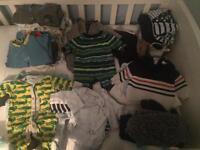 Big Bundle of Boys Newborn and First Size