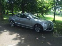 **Audi S5 4.2 V8** Grey. Full Black Leather. 87000k. FSH