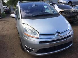 2009 Citroen C4 Grand Picasso Exclusive 1.6 Petrol Auto S-A SAT NAV 7 Seats Wheel Nut Breaking
