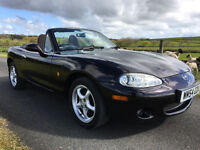 2005 Mazda MX5 MX-5 1.6 *Lady Owner*Fab Condition*Low Mileage*Long MOT*Stunning*