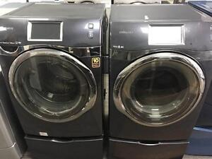 31- SAMSUNG WI-FI STEAM Laveuse Secheuse Frontales Frontload Washer Dryer