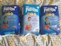brand new Huggies boy pullups/potty training pants